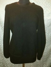 Andre Oliver 100% cashmere classic black sweater extra large womens XL - $40.65
