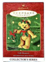 Hallmark Keepsake Ornament 2001 Gift Bearers Bear Collectors Series #3 W... - $12.02