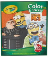 Crayola Despicable Me Color & Sticker Book, Gift for Kids, Age 3, 4, 5, ... - $5.93