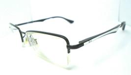 Ray Ban RB 6212 2509 Black/Silver 51-17-140 Eyeglasses Frame Half Rim - $42.50