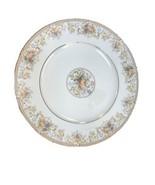 "Noritake HARVESTING 10 1/2"" Dinner Plate - Ireland - Gold & Leaf Design 2770 - $28.06"