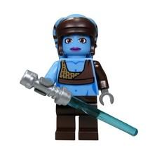 Aayla Secura Star Wars  Fit Lego Minifigures Block Movie Toys - $7.50