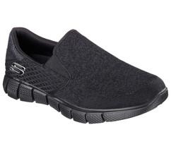 Skechers Black shoes Men's Memory Foam Comfort Slip On Casual Mesh Sneaker 51521 - $56.99
