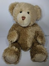 Brown Long hair Teddy Bear Build a Bear BABW Stuffed Animal Plush Soft 1... - $16.00