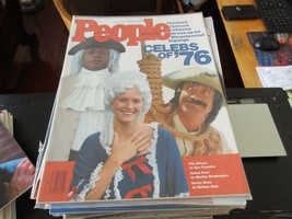 People Magazine , Celebs of '76 , 7/12/76 ,Flip Wilson ,Sonny Bono ,Su... - $24.75