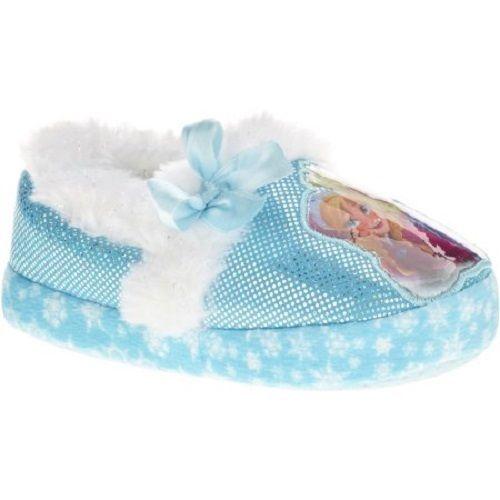 Disney Frozen Toddler Girls Sequin Slipper NWT Size 13-1