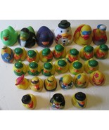 Big lot of 29 Collectible RUBBER DUCKY Duck mixed Figures large & small - $29.99