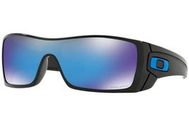 Oakley Gafas de Sol Batwolf Pulido Negro W/ Prizm Zafiro Iridio OO9101-5827 - $140.43