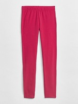 Gap Kids Girls Leggings 10 12 Hot Pink Stretch Jersey Elastic Waist Cott... - $13.99