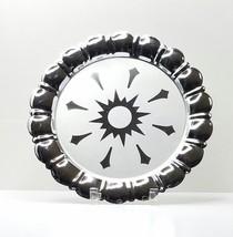 MCM Chrome Atomic Silvertone Serving Plate - $13.81