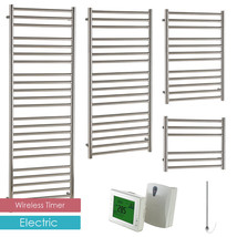 AURA Steel ELECTRIC Stainless Steel Heated Towel Rail / Warmer + WIRELES... - ₨23,356.25 INR+