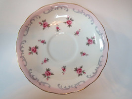QUEEN ANNE BONE CHINA - SAUCER (ONLY)      K - $5.00