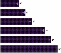 An item in the Sporting Goods category: White Water Archery Non-Laminated Purple Houndstooth Icon Arrow Wraps 15 Pc Choo