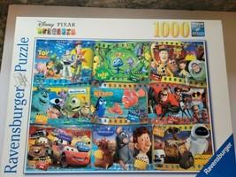 Ravensburger DISNEY PIXAR MOVIES Jigsaw Puzzle 1000 Pieces Open Box  - $17.34