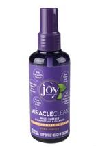 Joy Mangano MiracleClean 3.4 Oz Disinfectant Cleaner Spray Bottle Warm Vanilla