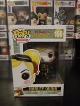 Funko Pop! Heroes DC Bombshells Harley Quinn #166 Vinyl Figure WITH PROT... - $14.64