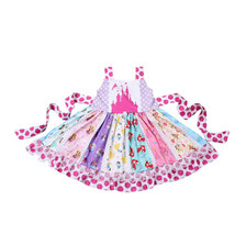 NEW Boutique Disney Princess Girls Sleeveless Ruffle Twirl Dress - $19.99