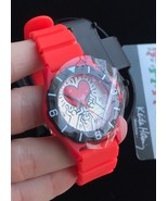 NWT KEITH HARING Holding Red Heart WATCH with case - very collectible - $475.00