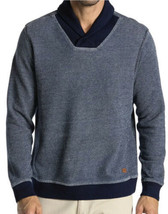 Tommy Bahama Men's Agave Azul Shawl Sweater Pullover Indigo Blue Size La... - $42.75