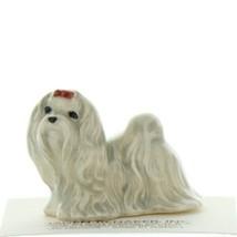 Hagen Renaker Dog Maltese Ceramic Figurine image 1