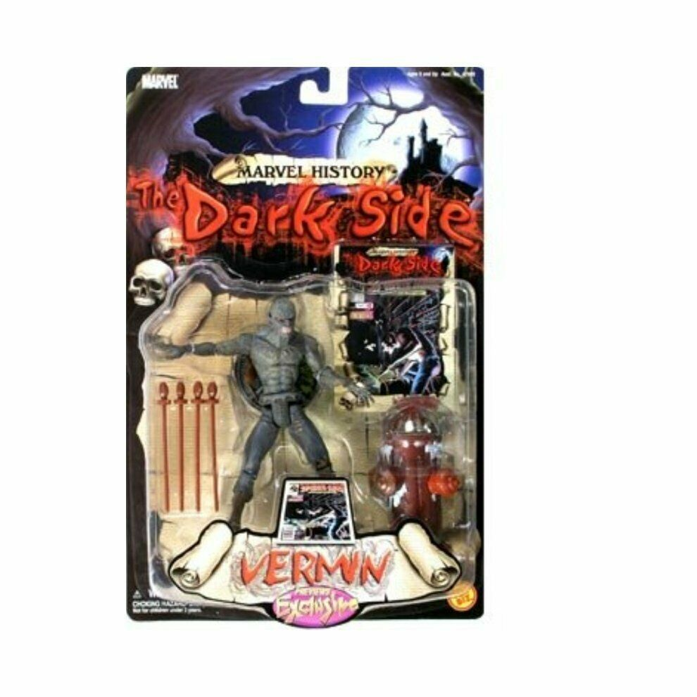 Marvel History: The Dark Side > Vermin action figure by Spider-Man