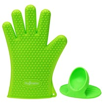 Heat Resistant Silicone BBQ Gloves Protective O... - $12.54