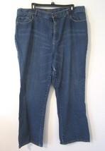 Lauren Jeans Co. Medium Wash Classic Boot Cut Denim Jeans Pants Plus 18W... - $13.65