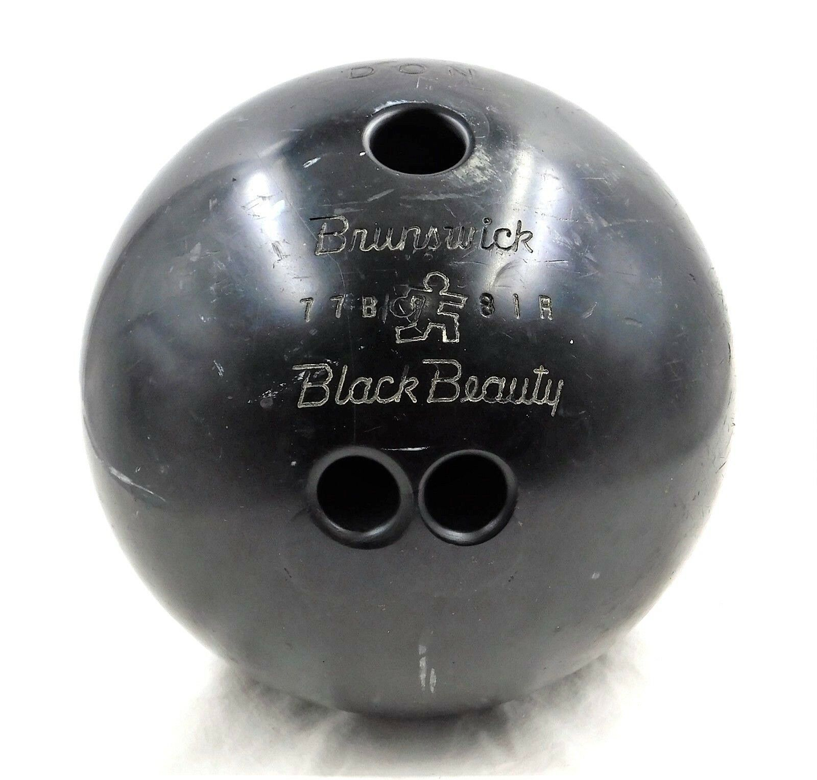 Primary image for Brunswick Black Beauty 15-1/2 Pound Bowling Ball Games Recreation Sports Don Mel