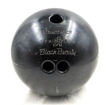 Brunswick Black Beauty 15-1/2 Pound Bowling Ball Games Recreation Sports... - $14.03