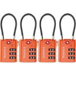 TSA Approved Luggage Locks, Travel Locks Which Also Work Great as Gym Lo... - $18.19