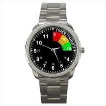 reloj sport metal watch metro 2033 nerd spy shooter gamer cosplay wristwatch - $22.39