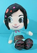 """Disney Store Wreck It Ralph Vanellope Von Schweetz 12"""" Plush Doll Stuffed Animal - $14.95"""