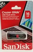 SanDisk Cruzer Glide 16GB USB 2.0 Flash Drive (SDCZ60-016G-A46) - $12.07
