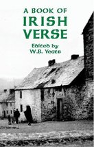 A Book of Irish Verse Yeats, W. B. - $5.80