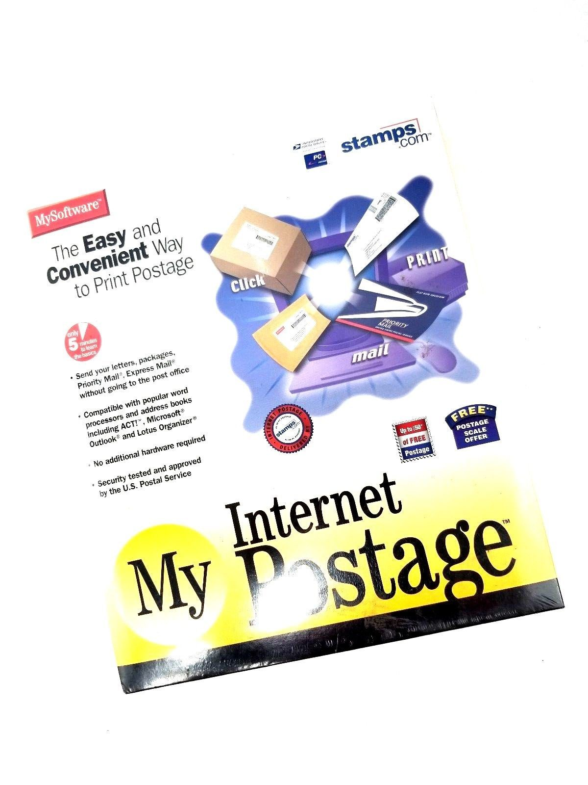 My Software: My Internet Postage by Stamps.com Free Postage Scale Offer New