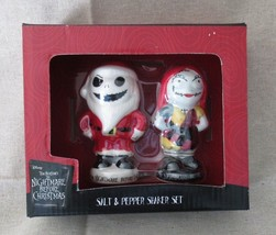 Tim Burton's Nightmare Before Christmas Jack and Sally Salt & Pepper Sha... - $8.99