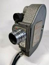 Vintage CINE Revere 87 Windup 8mm Movie Camera Metal Body Manufactered 1940 - $64.34