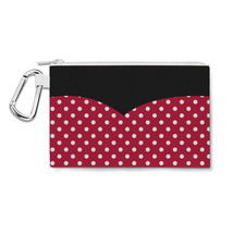 Minnie Rock The Dots Disney Inspired Canvas Zip Pouch - $15.99+