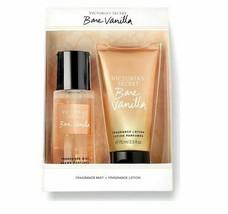 Victoria's Secret Bare Vanilla Mist & Lotion Mini Gift set NEW WITH BOX - $25.00