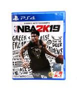 Sony Game Nba 2k19 - $14.99