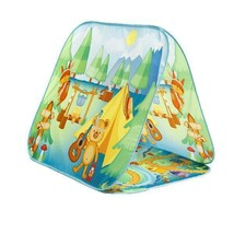 Fun2Give Pop-It-Up Survival A-Frame Play Tent Beautiful Forrest Graphics - $36.42