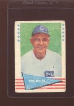 1961 FLEER #62 BING MILLER POOR *141921 - $0.99