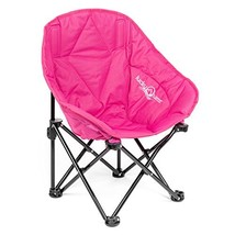 Lucky Bums Kids Oversized Folding Lounge Camp Chair, Pink, Small - $41.09