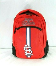 St. Louis Cardinals MLB Backpack Red Forever Collectibles Action - $34.99