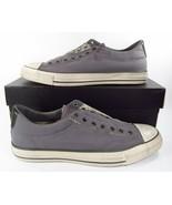 Converse x John Varvatos Chuck Taylor Vintage Slip On Seersucker Grey 15... - $77.00