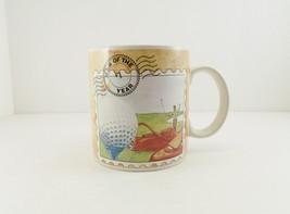 Golf Mug #1 Man Of The Year Golfing Scene Russ Berrie & Co, Inc - $9.90
