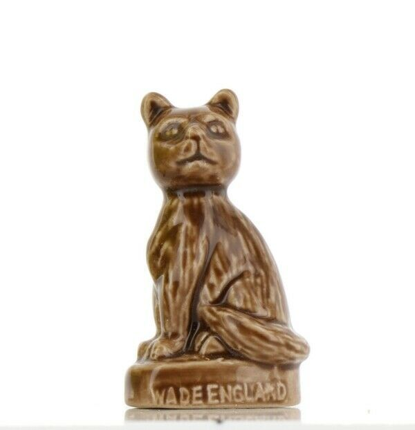 Wade Whimsies Red Rose Tea American Pets Series Cat
