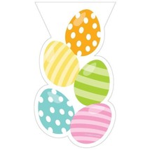 Easter Egg Treat Bags 20 Ct Plastic Party Treat Favor - $4.39