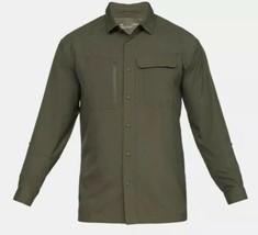 Under Armour 1327454 UA Vented Tac Hunter Fishing Beach Shirt Mens Large NEW - $53.90