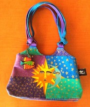 Laurel Burch Sun Moon & Stars Small Purse - $14.85